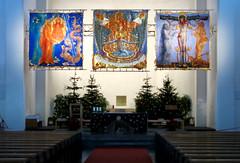 Rosenkranz Triptychon (Don Claudio, Vienna) Tags: rosenkranz triptychon ernst fuchs kunst art kirche pfarrkirche wien vienna pfarre hetzendorf