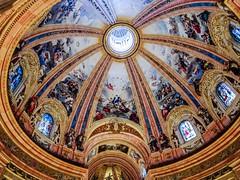 cupula pintura mural Virgen de los Angeles interior Real Basilica de San Francisco el Grande Madrid 05 (Rafael Gomez - http://micamara.es) Tags: cupula pintura mural virgen de los angeles interior real basilica san francisco el grande madrid