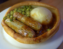 Sausage, Mash and Peas in a Giant Yorkshire Pudding (Tony Worrall) Tags: add tag ©2019tonyworrall images photos photograff things uk england food foodie grub eat eaten taste tasty cook cooked iatethis foodporn foodpictures picturesoffood dish dishes menu plate plated made ingrediants nice flavour foodophile x yummy make tasted meal nutritional freshtaste foodstuff cuisine nourishment nutriments provisions ration refreshment store sustenance fare foodstuffs meals snacks bites chow cookery diet eatable fodder ilobsterit instagram forsale sell buy cost stock sausage mash peas giant yorkshire pudding gravy