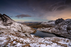 Snow, Ice & Fire (Mark Palombella Hart) Tags: nature landscape beautiful clouds trees scenic tourism wales autumn photography photographer photooftheday potd photo mountains hills rivers streams landscapephotography lake rocks reflection sky exposure snow ice