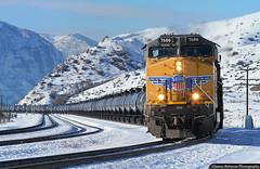 Ethanol Unit Train (jamesbelmont) Tags: railway ethanol unionpacific echo utah ge es44ac evanstonsubdivision