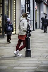 Leaning on the job (tootdood) Tags: canon6dmkii streetcandid marketstreet manchester leaning job lamp post