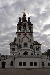 Dolgoprudny. Church of the Kazan icon of the Mother of God in Tarbeev (MSN_photo) Tags: russia dolgoprudny landscape religion temple church chapel architecture city «spiritualwealth» domes orthodoxy cathedral christianity «historicalmonument»