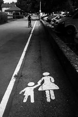 Women and children first (Konica Big Mini) (stefankamert) Tags: street lines people film analog grain analogue konica bigmini bigminibm302 noir blackandwhite blackwhite noiretblanc fp4 ilford bw baw