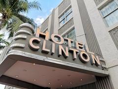 South Beach | Hotel Clinton (Toni Kaarttinen) Tags: usa unitedstates florida wpb america miami miamidade southbeach artdeco architecture clinton hotel hotelclinton