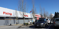 Shopping at Canadian Tire (D70) Tags: shopping canadian tire districtofnorthvancouver britishcolumbia canada 2018 volkswagen golfr golf r canadiantire superstore boxstore parkinglot winter sunshine sunny blue sky