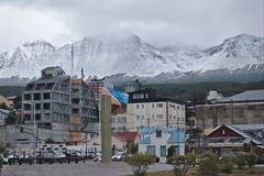 Ushuaia (mlcastle) Tags: argentina patagonia tierradelfuego ushuaia city mountains flags