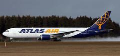 N641GT (PrestwickAirportPhotography) Tags: frankfurt hahn airport edfh atlas air b767 n641gt boeing 767