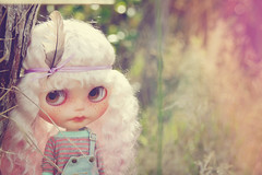 Such a dreamer... (L♥valizious) Tags: blythe reroot customblythe blythereroot mohairreroot mohair