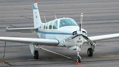 Beech B36TC Bonanza N6834A (ChrisK48) Tags: kdvt beechb36tc aircraft n6834a 1984 beechcraft phoenixaz bonanza dvt airplane phoenixdeervalleyairport