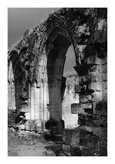 Ruines de l'abbaye de Vauclair (DavidB1977) Tags: france picardie hautsdefrance aisne bouconvillevauclair monochrome bw nb fujifilm x100f ruines abbaye