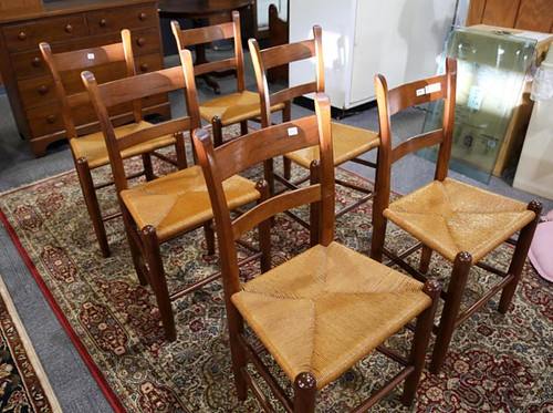 Set of 6 Clore Kitchen Chairs ($952.00)