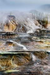 Mammoth Hot Springs (Trent9701) Tags: montana sonya7rii trentcooper vacation wyoming yellowstonenationalpark nationalparks nature outdoors travel wildlife