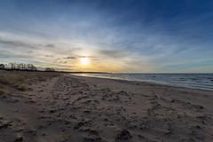 Christmas Walk (J. Pelz) Tags: morning beach ocean balticsea nature sweden sunrise gotland landscape
