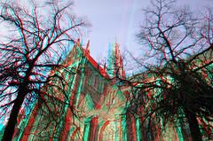 St.Bavokerk Haarlem 3D