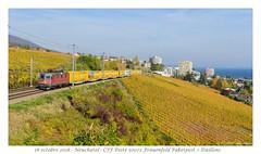 Re 420 260 Poste - Neuchâtel (CC72080) Tags: re420 re44 train locomotive poste neuchâtel cff sbb ffs cargo