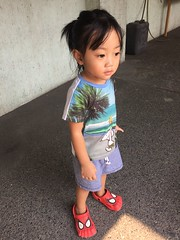 Herou picked me up from school (ghostgirl_Annver) Tags: asia asian child kid boy brother sibling family portrait cute