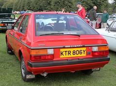 KTR 806Y (4) (Nivek.Old.Gold) Tags: 1982 datsun cherry 13 gl 5door cars fareham lee