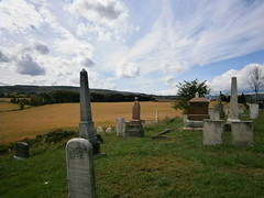 West Church Cemetery (ScienceLives) Tags: west church cemetery nottawasaga nottawa blue mountain scenery view cleariew township farm sky grass gravestones headstones