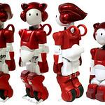 人間共生ロボットの研究開発の写真