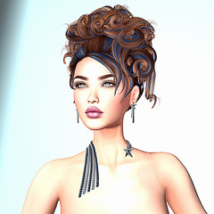 LuceMia - Zuri Jewelry (2018 SAFAS AWARD WINNER - Favorite Blogger - MISS ) Tags: swankevent wildmakeup lipstick zurisjewelry jewelry event comet sl secondlife mesh fashion creations blog beauty hud colors models lucemia