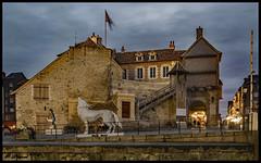Loup Blanc à la Lieutenance (o.penet) Tags: honfleur batiments architecture nuit longexposure normandie penet nikon
