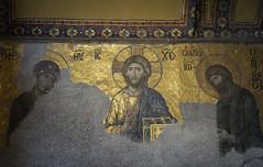 Deesis Mosaic (Insher) Tags: hagiasophia ayasofya deesismosaic istanbul turkey church byzantium