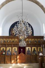 Interior (syf22) Tags: agiosgeorgios church worship building orthodox orthodoxchurch religion believe interior inside indoor white wooden panel
