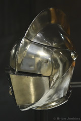 Close Helmet (Late 16th Century) (Bri_J) Tags: royalarmouries leeds westyorkshire uk museum militarymuseum yorkshire nikon d7500 closehelmet armour helmet metal germanarmour foottourney