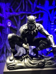 "Black Panther Statue • <a style=""font-size:0.8em;"" href=""http://www.flickr.com/photos/109120354@N07/46565813874/"" target=""_blank"">View on Flickr</a>"