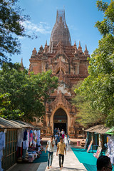 Temple Htilominlo (Seb & Jen) Tags: bagan myanmar burma birmanie mandalayregion myanmarbirmanie oldbagan nyaungu royaumedepagan temple pagoda pagode htilominlo