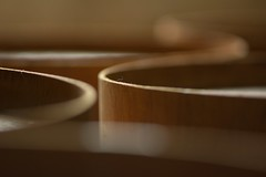 Rings (Tony Tooth) Tags: nikon d7100 nikkor 105mm bokeh blurry wood wooden rings abstract boylestone derbyshire