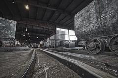 Wagenumlauf Zeche Zollverein / coal mine Zollverein (hha_photo) Tags: zeche zollverein mine coal coalmine historic nrw germany essen landmark ruhrgebiet industriekultur industriedenkmal industrialculture unescoworldheritage bergbau voigtländer voigtländer15mm voigtlander