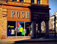 P O S H  S A L E (jpmatth) Tags: digital color canon eos 5d mk2 lenstagged ef50mm25compactmacro hometown taylorville illinois square store posh sale clothing womens 2019