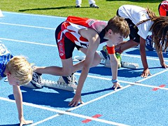Ready, set and... (Cavabienmerci) Tags: regional athletics championships 2017 suisse schweiz switzerland run running race sport sports runner läufer lauf course à pied coureur boy boys