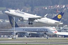 Lufthansa Airbus A320-214 (sharklets); D-AIUH@ZRH;23.03.2019 (Aero Icarus) Tags: zrh zürichkloten zürichflughafen zurichairport lszh plane avion aircraft flugzeug