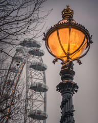 London (Andrew J Hulson) Tags: blue london londoneye sony a7r2 zeiss 55mm 18 capitalofengland theriverthames thecapital lights victorian moody day
