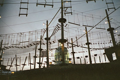 (Just A Stray Cat) Tags: 35 35mm film analog analogue olympus stylus epic mju ii mjuii 28 montreal canada quebec le plateau urban street fuji fujicolor fujifilm natura 1600 superia
