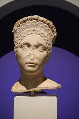Female Portrait from Carthage (LJMcK) Tags: classical roman empire nma nationalmuseumofaustralia britishmuseum sculpture statue