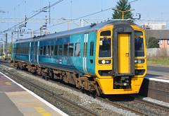 158828 Unit working Machynlleth - Birmingham International service. (photobobuk - Robert Jones) Tags: 158828 unit machynlleth birminghaminternational service trains transport travel railways wales stechford birmingham uk