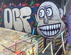 Wild Smile (svennevenn) Tags: gatekunst streetart bergen graffiti bergengraffiti sentralbadet teeth tenner smil smile ocf