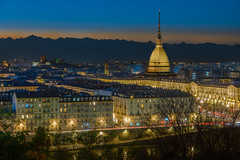 Sunset in Torino (Star Wizard) Tags: torino piemonte italy it