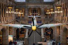 Spitfire (Joe Son of the Rock) Tags: aeroplane aircraft fighter glasgow museum kelvingrove kelvingrovemuseum spitfire