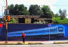 La toma (carlos_ar2000) Tags: muro pared wall graffiti calle street mujer woman color colour arte art remediosdeescalada buenosaires argentina