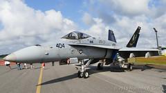 "McDonnell Douglas F/A-18C Hornet of Strike Fighter Squadron 37 (VFA-37) ""Ragin' Bulls"" from NAS Oceana (Norman Graf) Tags: boeing usn aircraft fa18c airplane cagbird fa18 2017nasoceanaairshow airshow 165221 navalaviation vfa37 50thanniversary raginbulls aj404 attack carrierairgroup f18 f18c fighter hornet jet mcdonnelldouglas nasoceana plane strikefightersquadron37 unitedstatesnavy"