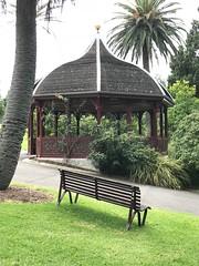 Royal Botanic Gardens Melbourne, Australia (Gisel 15) Tags: botanical botanic melbourne peaceful seat park garden path bench pergola