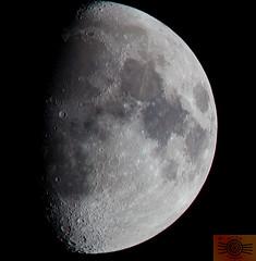 Havering Moon (Dan H Boyle Photography) Tags: gbr moon astronomy astrophotography havering london upminster moonphotography moonphases night nightphotography nightsky skyatnight canon canondslr canon700d 700d telephoto