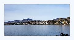 over to Clarens (overthemoon) Tags: switzerland suisse schweiz svizzera romandie vaud montreux lake léman lakegeneva mountains alps water blue sunny winter frame utata:project=3rds landscape