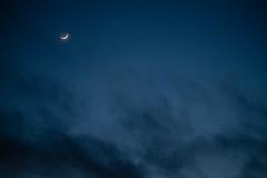 (DL Rohrer) Tags: 80mmf28macro xf80mmf28rlmoiswr xf80mmf28 crescentmoon blue fuji fujifilm xt3 atmospheric clouds cre crescent dark moon