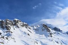 Majestic Tetnuldi (Tako Khinchakadze) Tags: snow winter mountains mountain blue sky clouds tetnuldi svaneti skiresort skiing georgia landscape nature sunny misty magnificent